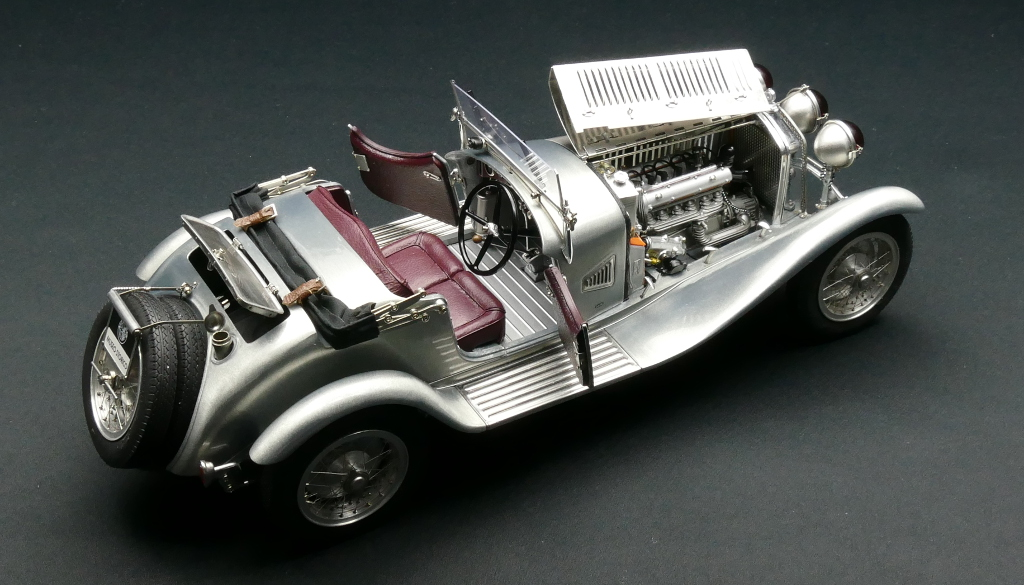 M-142 Alfa Romeo 6C 1750 GS Clear Finish Limited Edition